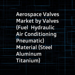 Aerospace Valves Market by Valves (Fuel  Hydraulic  Air Conditioning  Pneumatic)  Material (Steel  Aluminum  Titanium)  Mechanism (Poppet  Pilot  Flapper-Nozzle  Ball and Plug  Baffle)  End User (OEM  Aftermarket)  Aviation - Global Forecast to 2023