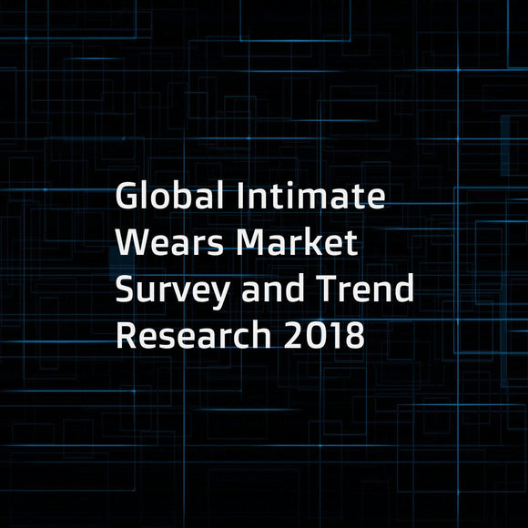 Global Intimate Wears Market Survey and Trend Research 2018