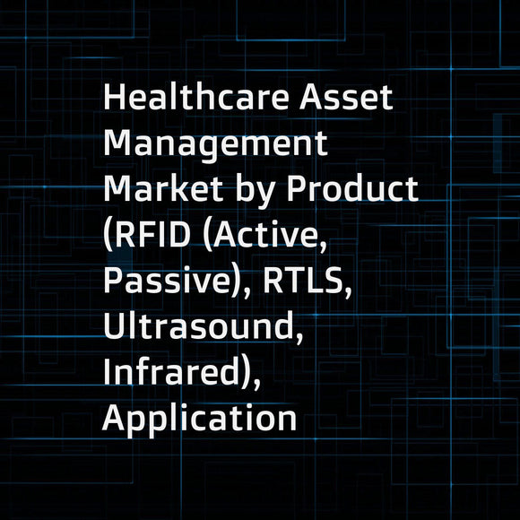 Healthcare Asset Management Market by Product (RFID (Active, Passive), RTLS, Ultrasound, Infrared), Application (Hospital (Equipment, Patient Monitoring, Staff Management, Hand Hygiene), Pharma (Drug Counterfeiting, Supply Chain)) - Global Forecast to 202