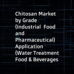 Chitosan Market by Grade (Industrial  Food  and Pharmaceutical)  Application (Water Treatment  Food & Beverages  Cosmetics  Medical & Pharmaceuticals  and Agrochemicals)  and Region (Asia Pacific  North America  Europe  Row) - Global Forecast to 2022