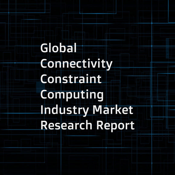 Global Connectivity Constraint Computing Industry Market Research Report