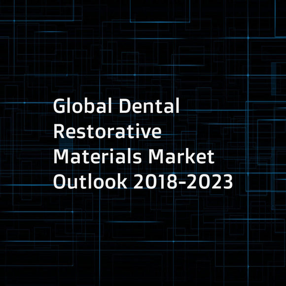 Global Dental Restorative Materials Market Outlook 2018-2023