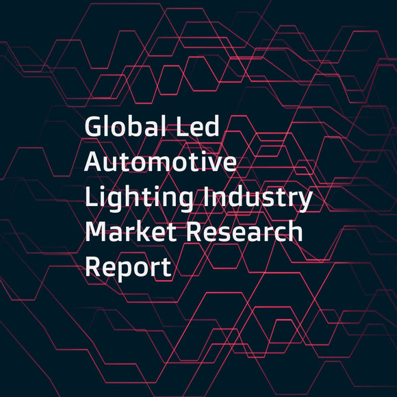 Global Led Automotive Lighting Industry Market Research Report