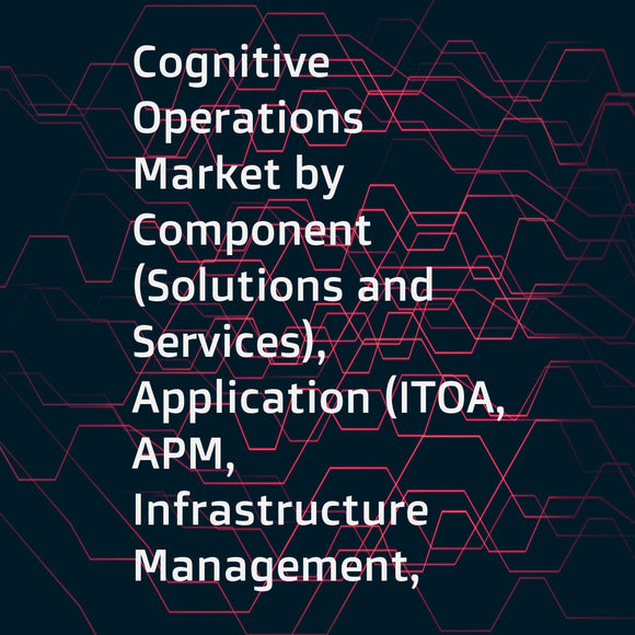 Cognitive Operations Market by Component (Solutions and Services), Application (ITOA, APM, Infrastructure Management, Network Analytics, and Security Analytics), Deployment Mode, Enterprise Size, Vertical, and Region - Global Forecast to 2023