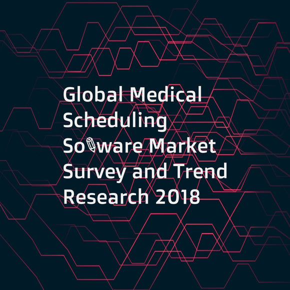 Global Medical Scheduling Software Market Survey and Trend Research 2018