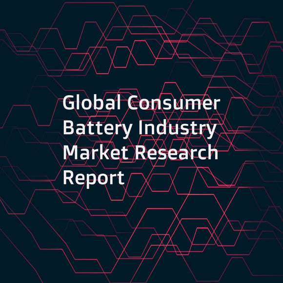 Global Consumer Battery Industry Market Research Report