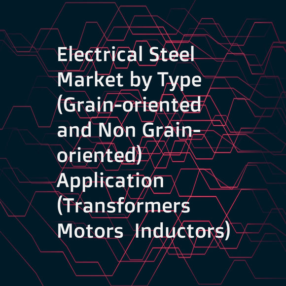 Electrical Steel Market by Type (Grain-oriented and Non Grain-oriented)  Application (Transformers  Motors  Inductors)  End-Use Industry (Energy  Automobile  Manufacturing  Household Appliances)  and Region - Global Forecast to 2021