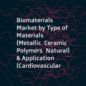 Biomaterials Market by Type of Materials (Metallic  Ceramic  Polymers  Natural) & Application (Cardiovascular  Orthopedic  Dental  Plastic Surgery  Wound Healing  Neurology  Tissue Engineering  Ophthalmology) - Global Forecast to 2021