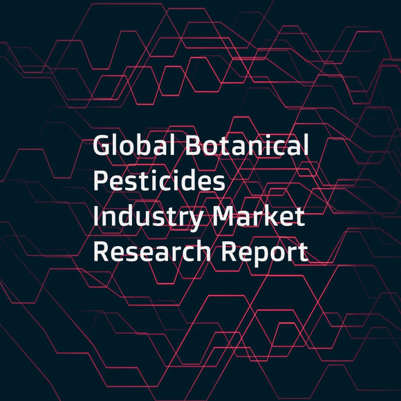 Global Botanical Pesticides Industry Market Research Report