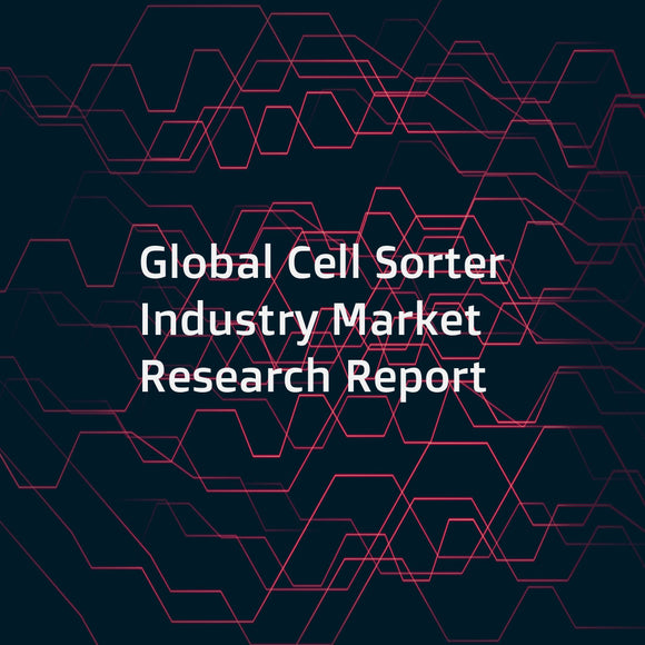 Global Cell Sorter Industry Market Research Report