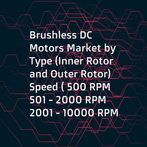 Brushless DC Motors Market by Type (Inner Rotor  and Outer Rotor)  Speed ( 500 RPM  501 - 2000 RPM  2001 - 10000 RPM   10000 RPM)  End User (Manufacturing  Medical Devices  Automotive  Consumer Electronics  Others)  and Region - Global Forecasts to 2021