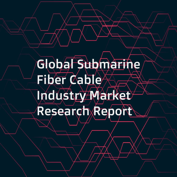 Global Submarine Fiber Cable Industry Market Research Report