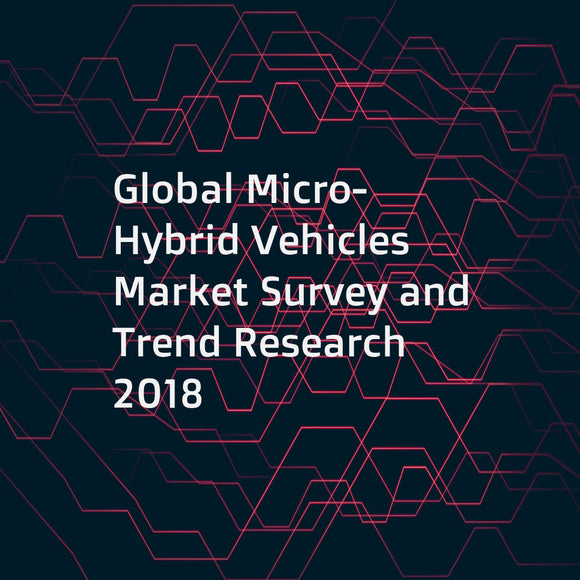 Global Micro-Hybrid Vehicles Market Survey and Trend Research 2018