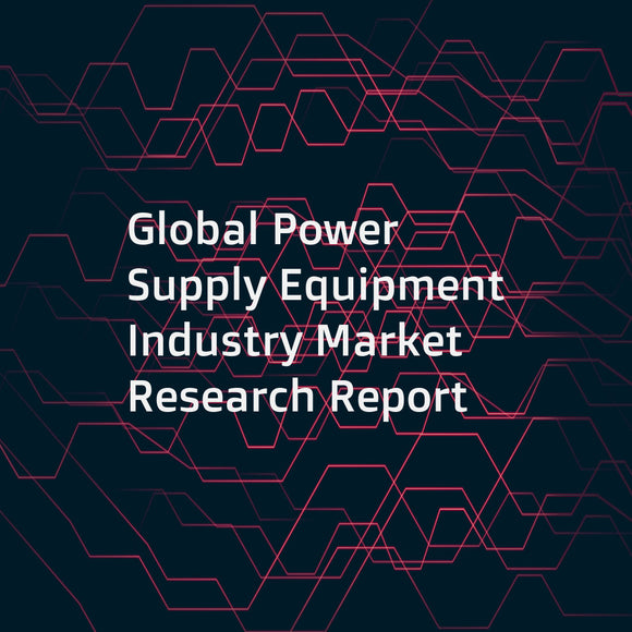 Global Power Supply Equipment Industry Market Research Report