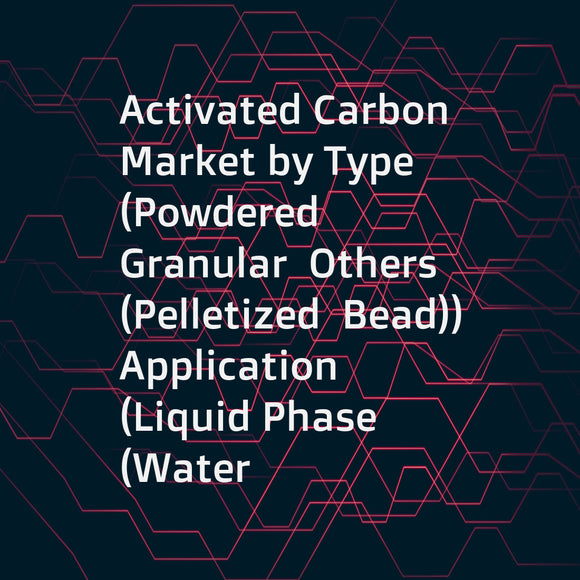 Activated Carbon Market by Type (Powdered  Granular  Others (Pelletized  Bead))  Application (Liquid Phase (Water Treatment  Foods & Beverages  Pharmaceutical & Medical)  Gaseous Phase (Industrial  Automotive))  Region - Global Forecast to 2021
