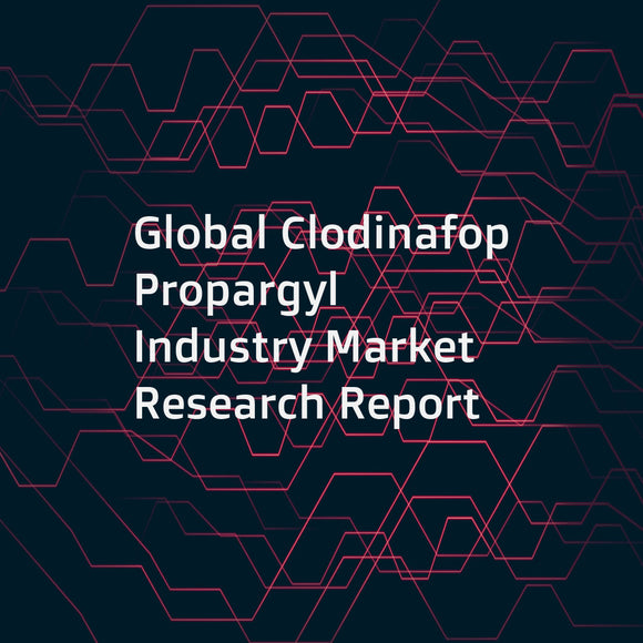 Global Clodinafop Propargyl Industry Market Research Report