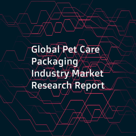 Global Pet Care Packaging Industry Market Research Report