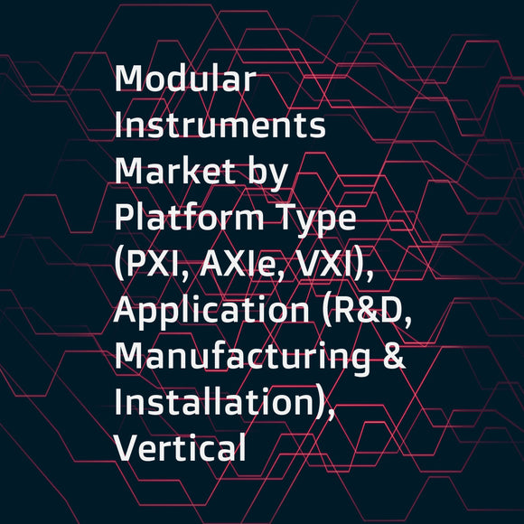 Modular Instruments Market by Platform Type (PXI, AXIe, VXI), Application (R&D, Manufacturing & Installation), Vertical (Telecommunications, Aerospace & Defense, Automotive, Electronics & Semiconductor), and Geography - Global Forecast to 2023