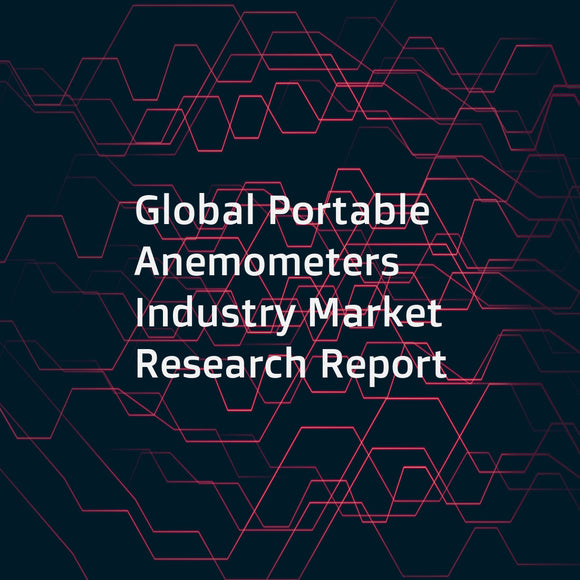 Global Portable Anemometers Industry Market Research Report