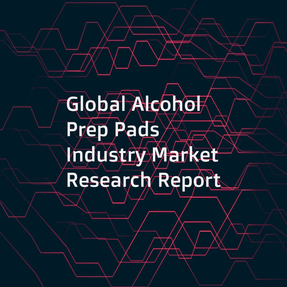 Global Alcohol Prep Pads Industry Market Research Report