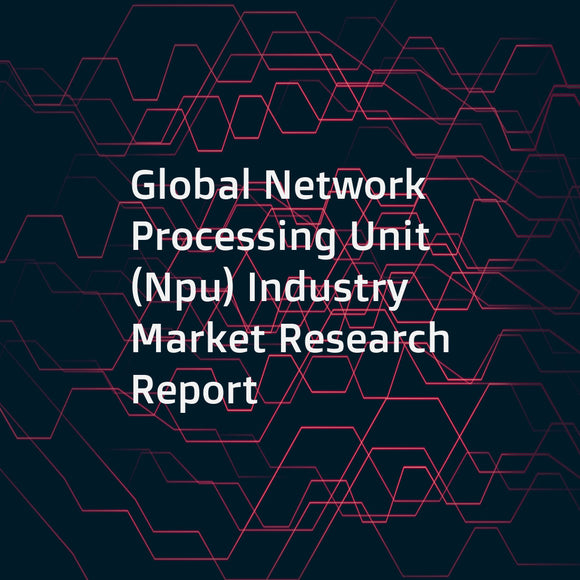 Global Network Processing Unit (Npu) Industry Market Research Report