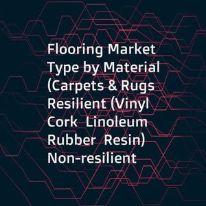 Flooring Market Type by Material (Carpets & Rugs  Resilient (Vinyl  Cork  Linoleum  Rubber  Resin)  Non-resilient (Ceramic  Stone  Wood  Laminate))  End-use (Residential  Non-residential)  and Region - Global Forecast to 2023