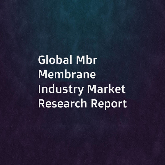 Global Mbr Membrane Industry Market Research Report