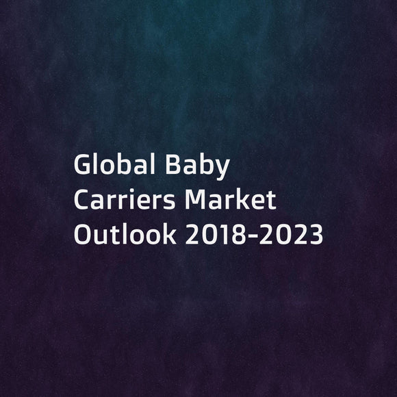 Global Baby Carriers Market Outlook 2018-2023