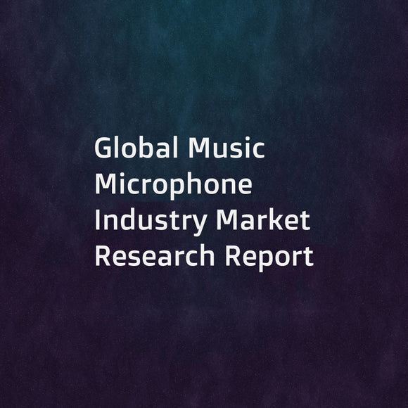 Global Music Microphone Industry Market Research Report