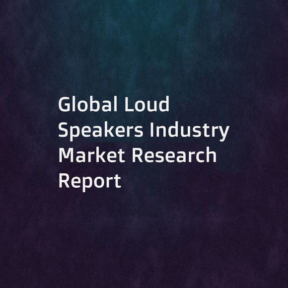 Global Loud Speakers Industry Market Research Report