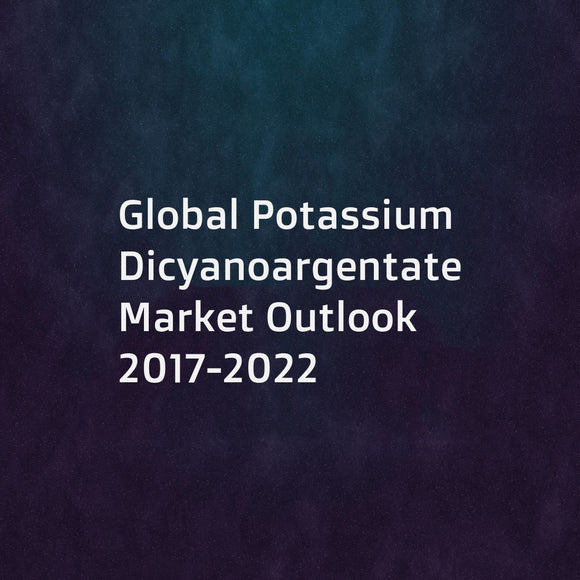 Global Potassium Dicyanoargentate Market Outlook 2017-2022
