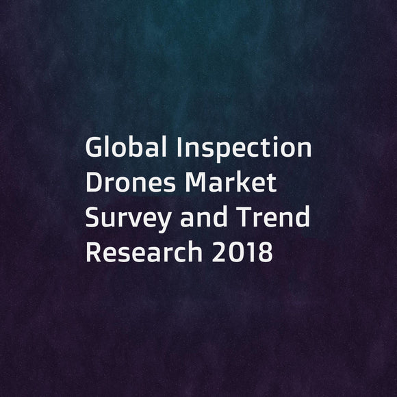 Global Inspection Drones Market Survey and Trend Research 2018
