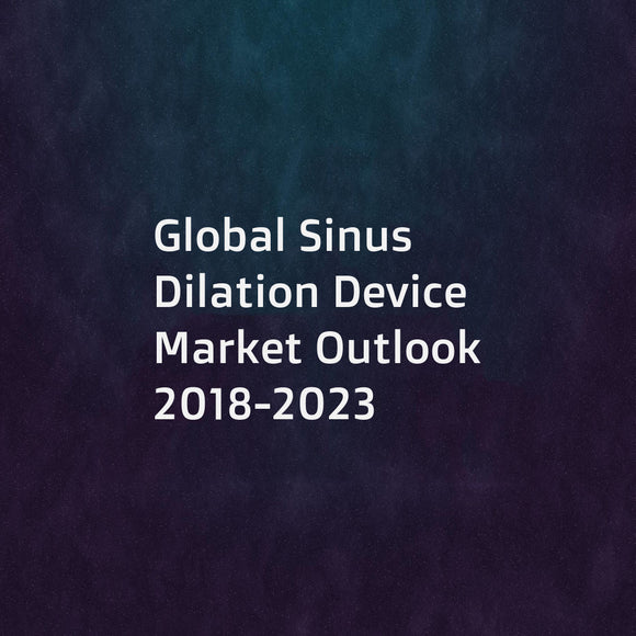Global Sinus Dilation Device Market Outlook 2018-2023