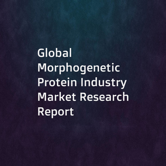 Global Morphogenetic Protein Industry Market Research Report