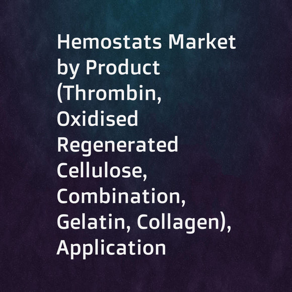 Hemostats Market by Product (Thrombin, Oxidised Regenerated Cellulose, Combination, Gelatin, Collagen), Application (Gynecology, Neurology, Cardiovascular, Reconstructive), Formulation (Powder, Matrix & Gel, Sheets & Pads) - Global Forecast to 2023