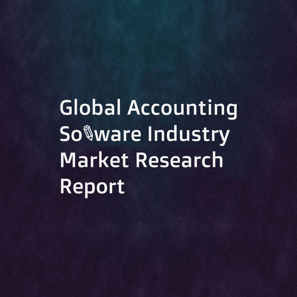 Global Accounting Software Industry Market Research Report