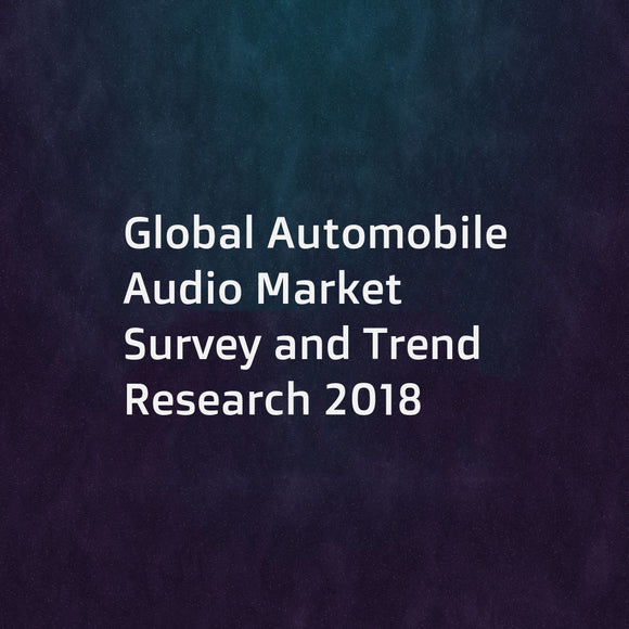 Global Automobile Audio Market Survey and Trend Research 2018