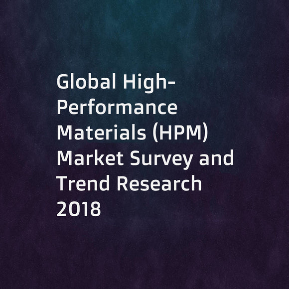 Global High-Performance Materials (HPM) Market Survey and Trend Research 2018