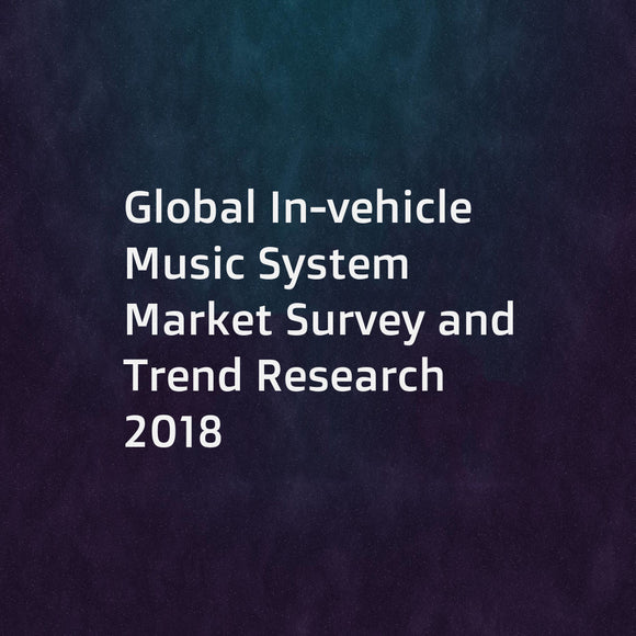 Global In-vehicle Music System Market Survey and Trend Research 2018
