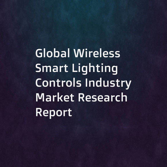Global Wireless Smart Lighting Controls Industry Market Research Report