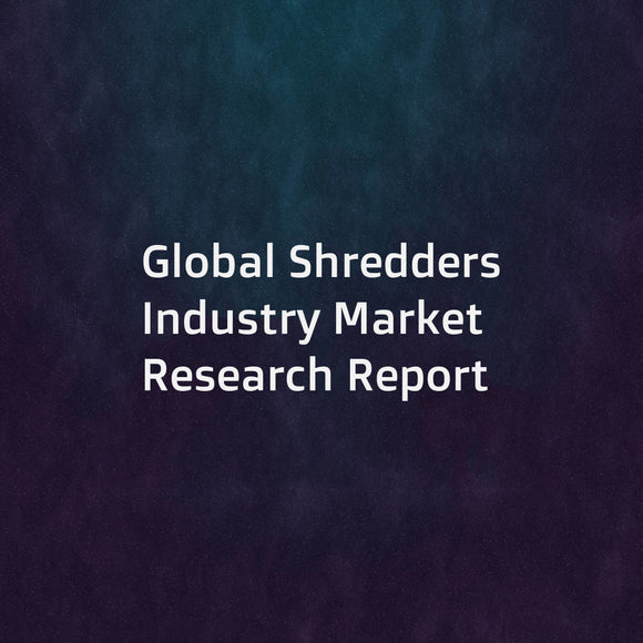 Global Shredders Industry Market Research Report