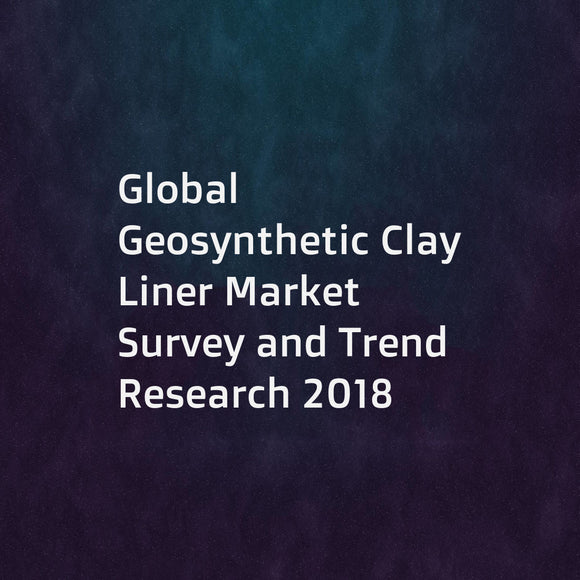 Global Geosynthetic Clay Liner Market Survey and Trend Research 2018