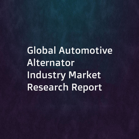 Global Automotive Alternator Industry Market Research Report