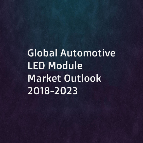 Global Automotive LED Module Market Outlook 2018-2023