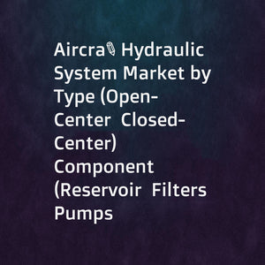 Aircraft Hydraulic System Market by Type (Open-Center  Closed-Center)  Component (Reservoir  Filters  Pumps  Accumulators  Actuators  Hydraulic Fluid)  Platform (Fixed  Rotary) and Region - Global Forecast to 2021