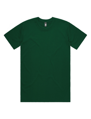 Hipland Basics Heavy Cotton Tee in Forrest Green