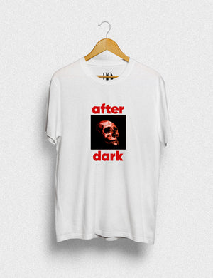 Hipland After Dark unisex t-shirt in white