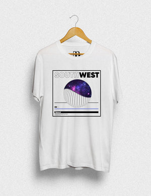 Hipland South West unisex t-shirt in white