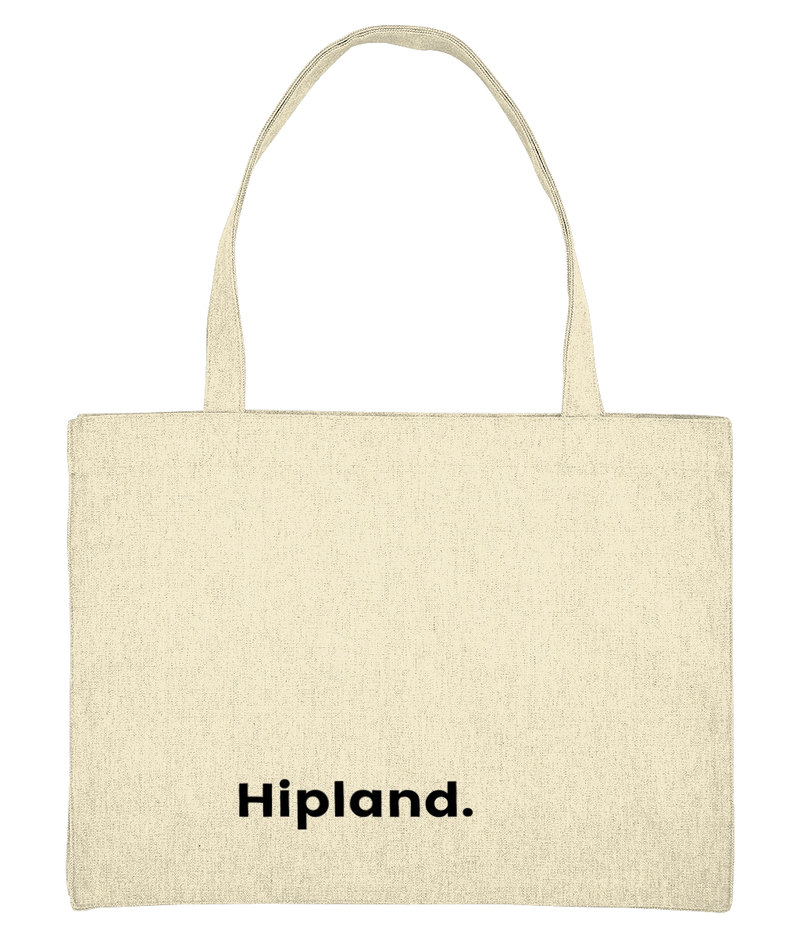 Hipland unisex Tote Bag in natural tone
