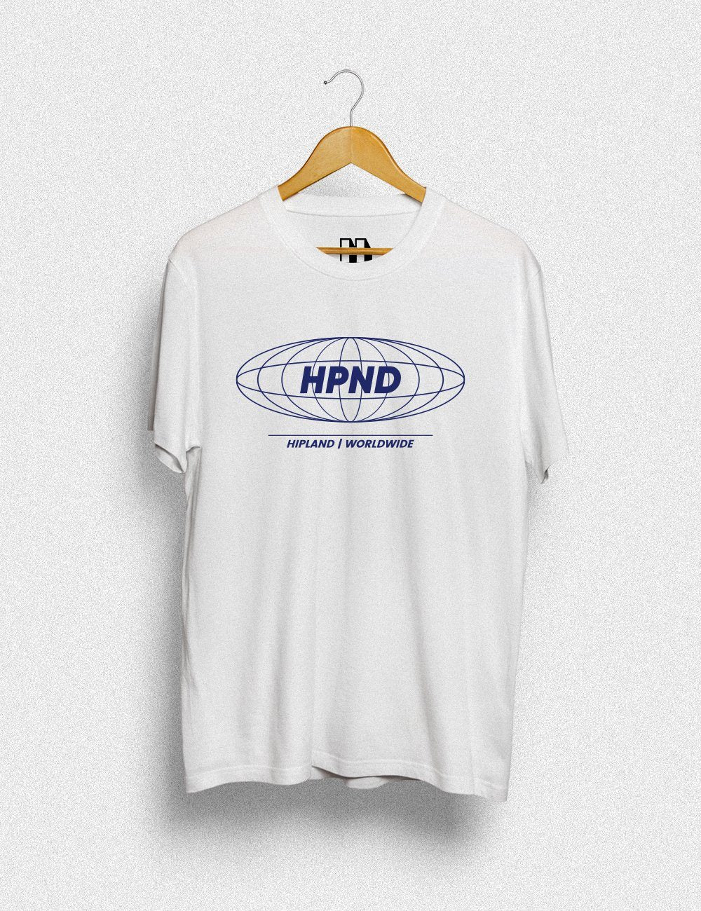 Clothing - Hipland HPND Blue Unisex T-shirt In White